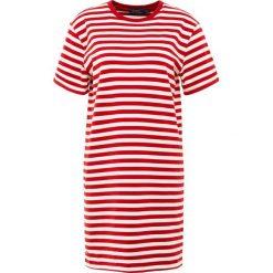 Polo Ralph Lauren Sukienka z dżerseju red. Czarne sukienki z falbanami marki Polo Ralph Lauren, polo. Za 629,00 zł.