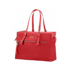 """Samsonite Karissa BIZ 14.1"""" czerwona. Czerwone torby na laptopa Samsonite, z materiału. Za 649,00 zł."""