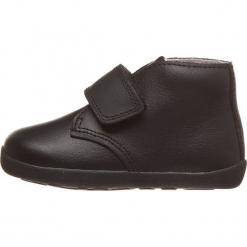 Skórzane sneakersy w kolorze czarnym. Czarne trampki chłopięce Bobux. W wyprzedaży za 135,95 zł.