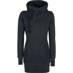 Bluzy rozpinane damskie: Forplay Smart Hoodie Bluza z kapturem damska czarny