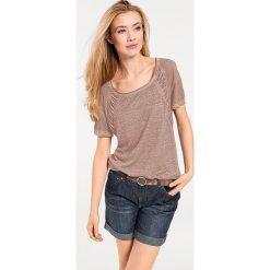 Odzież damska: Koszulka w kolorze szarobrązowym