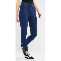 Topshop JONI NEW Jeans Skinny Fit blue. Niebieskie jeansy damskie marki Topshop, z bawełny. Za 209,00 zł.