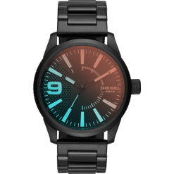 Zegarek DIESEL - Rasp DZ1844  Black/Black. Czarne zegarki męskie Diesel. Za 995,00 zł.