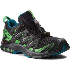 Buty SALOMON - Xa Pro 3D 404711 30 V0  Black/Deep Lagoon/Onlime Lime. Czarne buty do biegania męskie Salomon, z materiału, na sznurówki. W wyprzedaży za 399,00 zł.