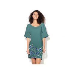 Sukienka CP-024  251. Szare sukienki dzianinowe marki Colour pleasure. Za 149,00 zł.