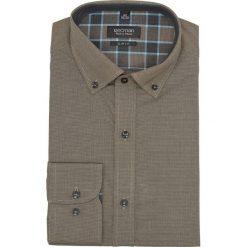 Koszula bexley 2289 długi rękaw slim fit zielony. Szare koszule męskie slim marki Recman, na lato, l, w kratkę, button down, z krótkim rękawem. Za 49,99 zł.