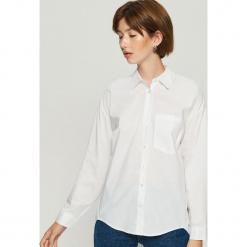 Koszula oversize - Biały. Białe koszule damskie Sinsay, s. Za 59,99 zł.