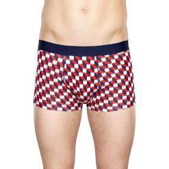 Happy Socks - Bokserki Filled Optic (2-pak). Czerwone bokserki męskie marki OLAIAN, z materiału, sportowe. W wyprzedaży za 99,90 zł.