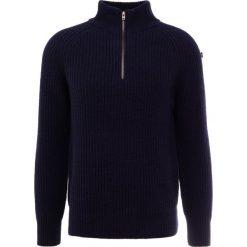 CLOSED Sweter dark blue. Niebieskie swetry klasyczne męskie CLOSED, m, z materiału. Za 969,00 zł.