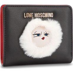 Mały Portfel Damski LOVE MOSCHINO - JC5590PP06KJ0000 Nero. Czarne portfele damskie Love Moschino, ze skóry ekologicznej. Za 419,00 zł.