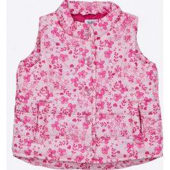 Blukids - Bezrękawnik dziecięcy 68-98 cm. Fioletowe kurtki dziewczęce przeciwdeszczowe marki OLAIAN, z elastanu, sportowe. W wyprzedaży za 39,90 zł.