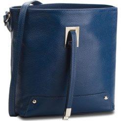 Torebka CREOLE - K10548 Granatowy. Niebieskie listonoszki damskie marki Creole, ze skóry. W wyprzedaży za 159,00 zł.