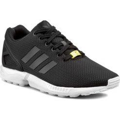 Buty adidas - ZX Flux M19840  Black1/White. Czarne buty do biegania damskie marki Adidas, w paski, z materiału, adidas zx. W wyprzedaży za 279,00 zł.