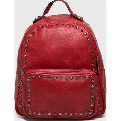 Answear - Plecak. Brązowe plecaki damskie ANSWEAR, w paski, ze skóry ekologicznej. W wyprzedaży za 69,90 zł.