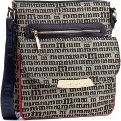 Torebka MONNARI - BAG7470-013 Navy. Niebieskie listonoszki damskie Monnari, z materiału. W wyprzedaży za 129,00 zł.