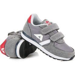 Buty dziecięce: Zamszowe trampki na rzep american CHELSEA