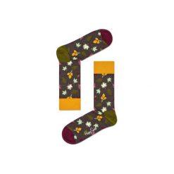 Skarpetki Happy Socks  FAL01-8000. Szare skarpetki męskie Happy Socks, z bawełny. Za 24,43 zł.
