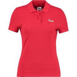 Lacoste LIVE Koszulka polo red. Czerwone bluzki damskie Lacoste LIVE, z bawełny, polo. Za 669,00 zł.
