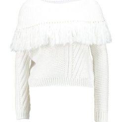 Swetry klasyczne damskie: Ivyrevel WIND  Sweter white