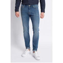 Lee - Jeansy Malone Common Blue Baza. Niebieskie jeansy męskie skinny Lee. Za 319,90 zł.
