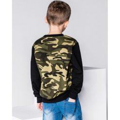 Bluzy chłopięce rozpinane: BLUZA DZIECIĘCA BEZ KAPTURA KB010 - JASNOZIELONA