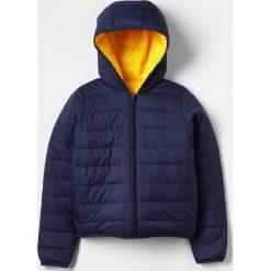 BOSS Kidswear Kurtka puchowa marine. Niebieskie kurtki chłopięce marki BOSS Kidswear, z bawełny. Za 799,00 zł.