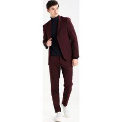 Spodnie męskie: Topman HARVEY   Spodnie materiałowe burgundy