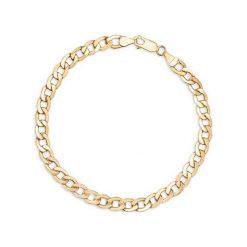 Zjawiskowa Złota Bransoletka - złoto żółte 585. Żółte bransoletki damskie na nogę W.KRUK, złote. Za 2490,00 zł.