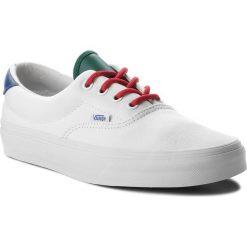 Tenisówki VANS - Era 59 VN0A38FSQKI (Vans Yacht Club) True Wh. Białe trampki męskie marki Vans, z gumy. W wyprzedaży za 219,00 zł.