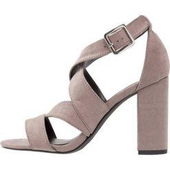 Sandały damskie: New Look SANGRIA Sandały na obcasie mid grey