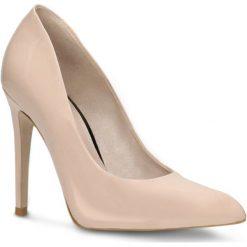 Czółenka MIDORI. Czerwone buty ślubne damskie marki Gino Rossi, z lakierowanej skóry, na szpilce. Za 259,90 zł.