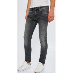 Pepe Jeans - Jeansy Hatch. Szare jeansy męskie slim Pepe Jeans, z bawełny. W wyprzedaży za 299,90 zł.