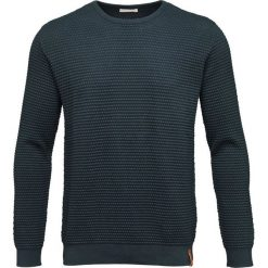 Swetry klasyczne męskie: Knowledge Cotton Apparel SAILOR Sweter dark green