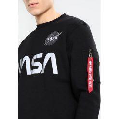 Bejsbolówki męskie: Alpha Industries NASA REFLECTIVE Bluza black