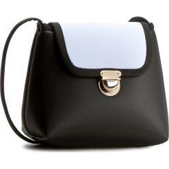 Torebka GOSHICO - Flowerbag 3029 Czarno/Niebieska. Czarne torebki klasyczne damskie GOSHICO. W wyprzedaży za 139,00 zł.