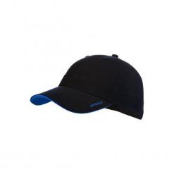 Czapka z daszkiem Jr granat. Niebieskie czapki z daszkiem damskie ARTENGO, z materiału. Za 17,99 zł.