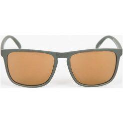 DC - Okulary. Czarne okulary przeciwsłoneczne męskie lustrzane marki Kazar, z tworzywa sztucznego. W wyprzedaży za 119,90 zł.