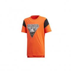 T-shirty z krótkim rękawem Dziecko  adidas  Koszulka Predator. Niebieskie t-shirty chłopięce z krótkim rękawem marki S.Oliver, z nadrukiem, z bawełny. Za 89,95 zł.