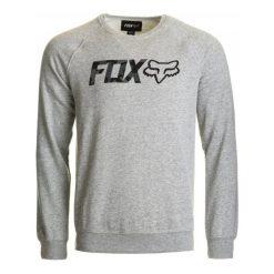 Bejsbolówki męskie: FOX Bluza Męska Legacy Crew Xxl Szary