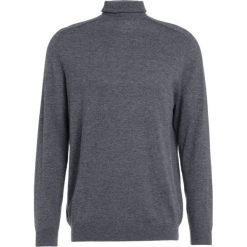 Swetry klasyczne męskie: Essentiel Antwerp IMPULSE ROLL NECK Sweter charcoal