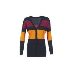 Swetry rozpinane / Kardigany Benetton  QUIROL. Czarne kardigany damskie Benetton, s. Za 143,20 zł.