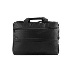 LOGIC CONCEPT BASE 15 CZARNA, TOR-LC-BASE-15-BLACK. Czarne torby na laptopa Logic Concept, w paski, z nylonu. Za 30,69 zł.