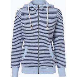 Bluzy sportowe damskie: Marie Lund – Damska bluza rozpinana, niebieski