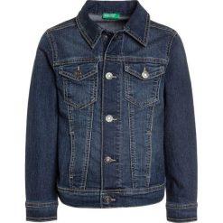 Benetton Kurtka jeansowa blue denim. Niebieskie kurtki męskie jeansowe marki Benetton. Za 129,00 zł.