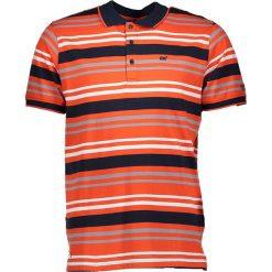 """Koszulki polo: Koszulka polo """"Pieran"""" w kolorze pomarańczowo-granatowym"""