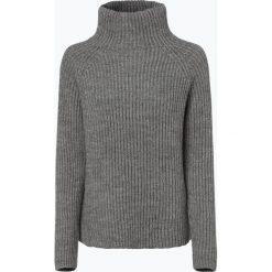 Swetry klasyczne damskie: Drykorn - Sweter damski z dodatkiem alpaki – Arwen, szary