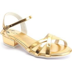 """Sandały damskie: Sandały """"Alice"""" w kolorze złotym"""