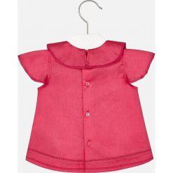 Mayoral - Top dziecięcy 80-98 cm. Różowe bluzki dziewczęce bawełniane Mayoral, z okrągłym kołnierzem, bez rękawów. Za 104,90 zł.