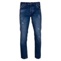 Mustang Jeansy Męskie 34/32 Niebieskie. Czarne jeansy męskie z dziurami marki Mustang, l, z bawełny, z kapturem. W wyprzedaży za 299,00 zł.