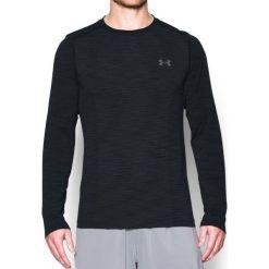 Under Armour Koszulka męska Threadborne Seamless LS czarna r. XXL (1289615-001). Szare koszulki sportowe męskie marki Under Armour, z elastanu, sportowe. Za 159,00 zł.